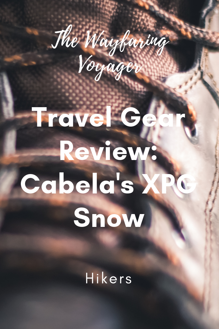 7b4ff752f17 Travel Gear Review: Cabela's XPG Snow Hikers - The Wayfaring Voyager