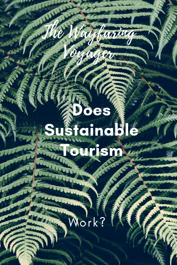 Doing Good: Does Sustainable Tourism Work?